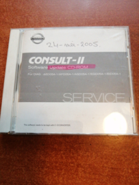 Consult-II Software Update CD-ROM DIAG: AED05A-1/ AFD05A-1/ ASD05A-1/ EGD05A-1/ EID05A-1