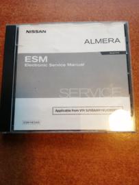 Electronic Service manual '' Model N16 series '' Nissan Almera N16 SM3E00-1N16E0E