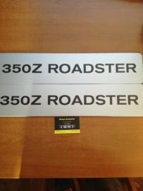 Showroomplaten Nissan 350Z ROADSTER