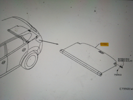 Trekzeil Nissan Qashqai JJ10 84982-EY20A