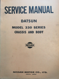 Service manual '' Model 330 series '' Datsun Cedric 330 SM5E-0330G0