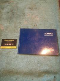 Instructieboekje '' Nissan Almera N15'' OM6D-0N15E0E