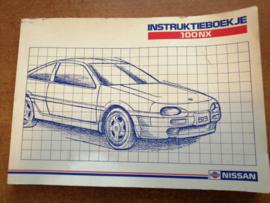 Instructieboekje '' Nissan 100NX B13'' OM1D-0B13G0