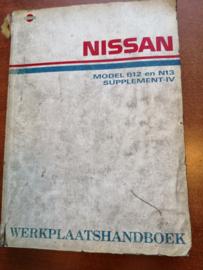 Werkplaatshandboek '' Model B12 en N13 Supplement IV '' SM9D-N3B5G0