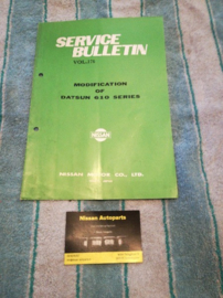 Service bulletin Nissan Datsun volume 176