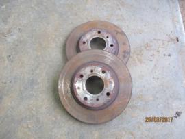 Remschijf vooras 280mm Nissan 40206-2F501 N16/ P11/ WP11