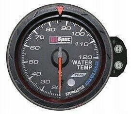 D1 spec Gauge water temperature black 52mm
