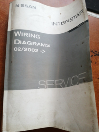 Wiring diagrams X70 Model X70 Nissan Interstar vanaf 2/2002 WD2E0XE0E