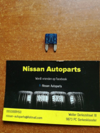Minizekering 15A blauw Nissan 24319-C9915