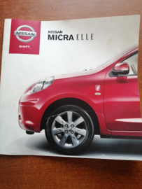 Reclamefolder Nissan Micra K13