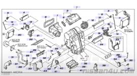 Regeleenheid kachelverwarming Nissan 27730-AX010