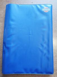 Opbergmap voor instructieboekjes Nissan blauw