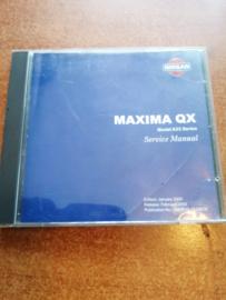 Electronic Service manual '' Model A33 series '' Nissan Maxima A33 SM0E00-1A33E0E
