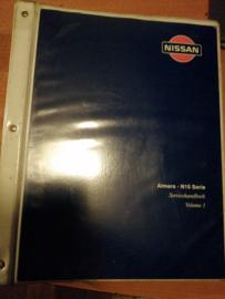 Servicehandboek Almera - N15 serie Volume 1