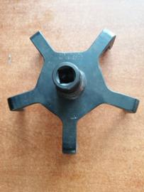 Speciaal gereedschap Nissan brandstoftankringdemontageklauw KV 109-G0'010