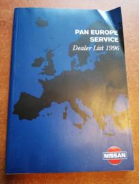 Nissan Pan Europe Service 1996