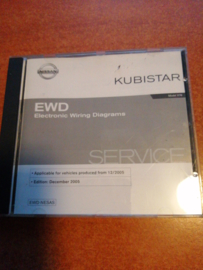Electronic Wiring Diagrams '' Model X76 series '' Nissan Kubistar X76 WD5A00-1X76E1E