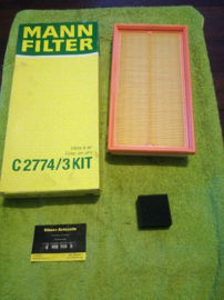 Luchtfilter Ford Mondeo Mann C2774/3KIT