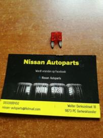Minizekering 10A rood Nissan 24319-C9910