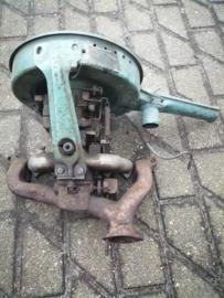 Carburateur / luchtfilterhuis / inlaatspruitstuk samenstelling Datsun Cherry FII 100A F10