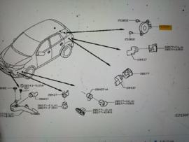 Parkeeralarm Nissan Qashqai J11 25650-00Q0A