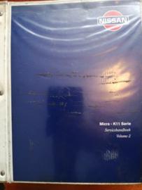 Servicehandboek Micra - K11 serie Volume 2