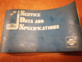 Service Data and Specificaties 1979