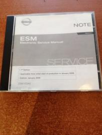 Electronic Service Manual '' Model E11 series '' Nissan Note E11 SM6E00-1E11E0E