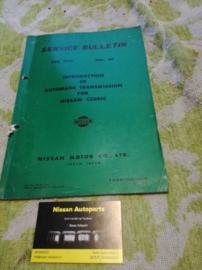 Service bulletin Nissan Datsun volume 60 Datsun Cedric
