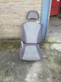 Bijrijdersstoel Nissan 100NX B13 87000-71Y73 Met hoofdsteun