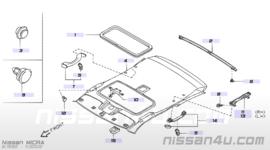 Dakraamrubber Nissan Micra K11 73967-6F602