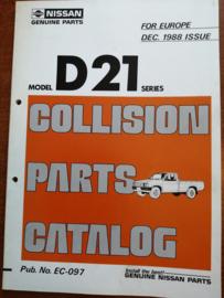 Collision parts catalog model D21 series Nissan King Cab D21 EC-097