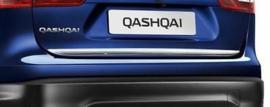 Chromen achterkleplijst Nissan Qashqai J11 KE791-4E52C Nieuw
