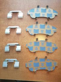 Hardware-kit remklauw vooras Nissan 41084-71J26 N16/ P11 Zonder ABS