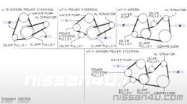 Multiriem aircopomp Nissan Micra K11 11920-41B02