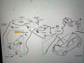Dop ruitensproeierreservoir Nissan Micra K13 28913-1HA3A