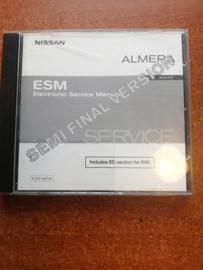 Electronic Service manual '' Model N16 series '' Nissan Almera N16 SM2A00-1N16E0E