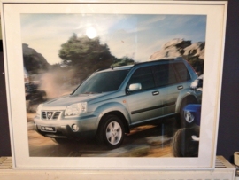 Poster in lijst Nissan X-trail T30