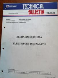 Technical bulletin EL 89.04 Bedradingsschema Elektrische Instalatie Nissan Micra K10