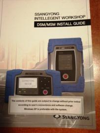 Ssangyong Intellegent Workshop DSM/MSM Install Guide