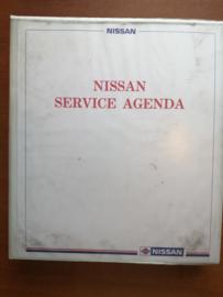 Nissan service agenda