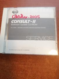 Consult-II Software Update CD-ROM DIAG: AED05C/ AFD05C/ ASD05C/ EGD05C/ EID05C