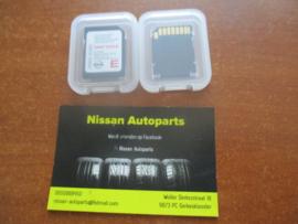 SD navigatie map Nissan Qashqai J11 Juke F15 Note E12 25920-4EA0C