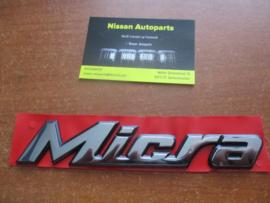 Embleem Micra Nissan Micra K11 90890-6F610 Origineel.