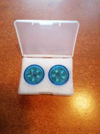 Portierlampjes / waarschuwingslampjes blauw Universeel (set 2 stuks)