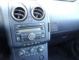 Montagesteun telefoonhouder Nissan Qashqai J10 MTU701137