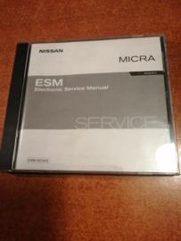 Electronic Service manual '' Model K12 series '' Nissan Micra K12 SM2A00-1K12E0E