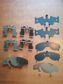 Hardware-kit remklauw vooras Nissan Almera N15 41080-1N026