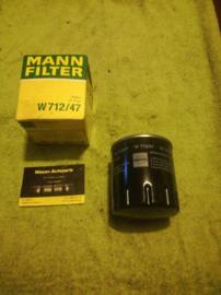 Motoroliefilter Renault Mann W712/47