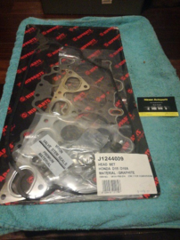 Cilinderkoppakkingset Honda Civic IV / V / VI 1.6 D15 / D16A Nipparts J1244009